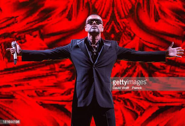 George Michael performs at Palais Garnier on September 9 2012 in Paris France