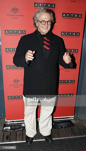 George Miller during AFTRS Inaugral Gala April 16 2007 at Doltone House in Sydney Australia