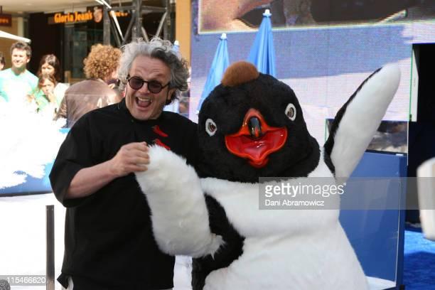George Miller during ''Happy Feet'' Sydney Premiere at Fox Studios in Sydney NSW Australia