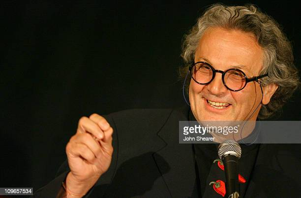 George Miller during The 32nd Annual Los Angeles Film Critics Association Awards Inside in Los Angeles CA United States