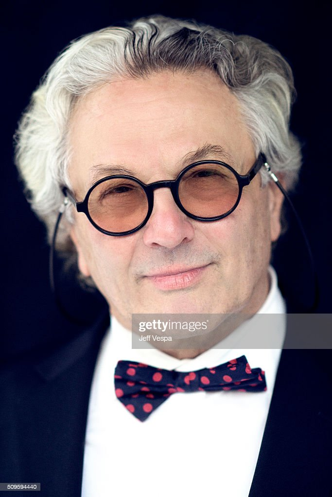 George Miller is photographed at the 2016 Oscar Luncheon for People.com on February 8, 2016 in Beverly Hills, California.