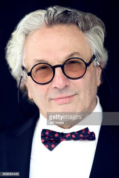 George Miller is photographed at the 2016 Oscar Luncheon for Peoplecom on February 8 2016 in Beverly Hills California