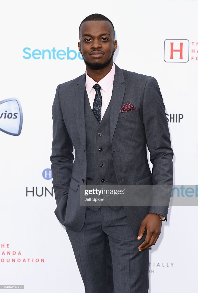 George Mpanga aka George the Poet attends the Sentebale Concert at Kensington Palace on June 28, 2016 in London, England. Sentebale was founded by Prince Harry and Prince Seeiso of Lesotho over ten years ago. It helps the vulnerable and HIV positive children of Lesotho and Botswana.