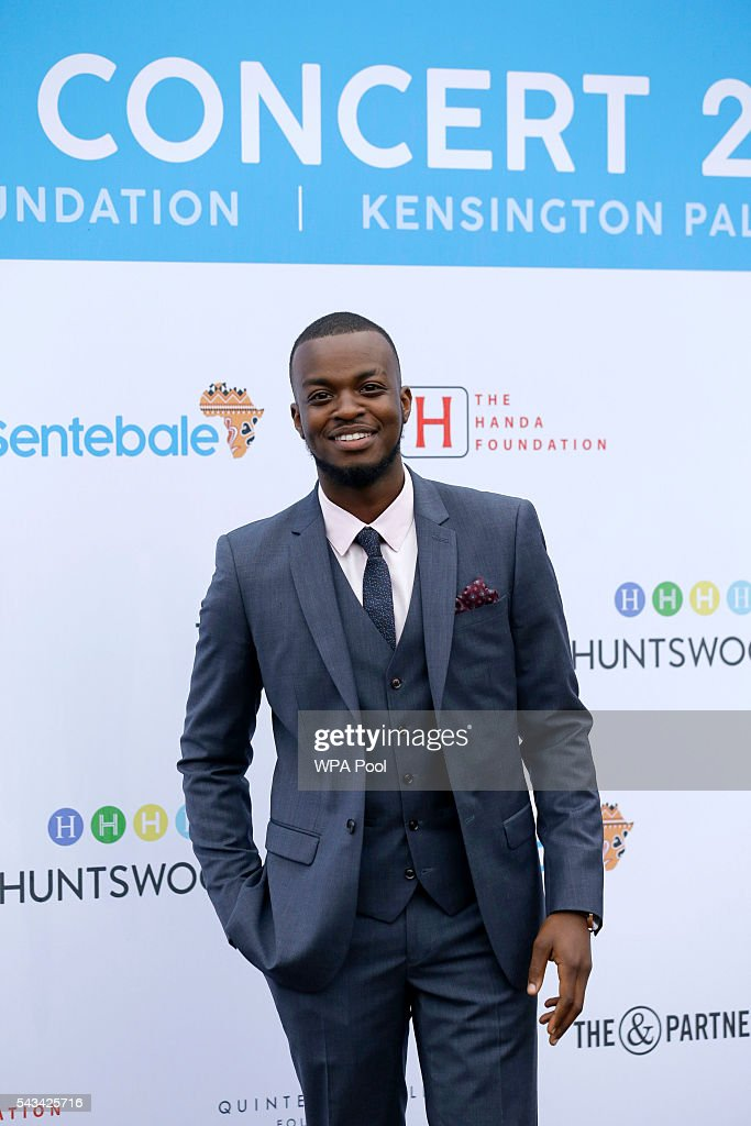 George Mpanga also known as George the Poet attends the Sentebale Concert at Kensington Palace on June 28, 2016 in London, England. Sentebale was founded by Prince Harry and Prince Seeiso of Lesotho over ten years ago. It helps the vulnerable and HIV positive children of Lesotho and Botswana.