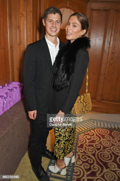 George Northcott and Quentin Jones attend a private dinner following the Warrior Games Exhibition VIP Preview hosted by HRH Princess Eugenie Waris...