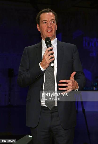 George Osborne attends The London Evening Standard's Progress 1000 London's Most Influential People in partnership with Citi on October 19 2017 in...