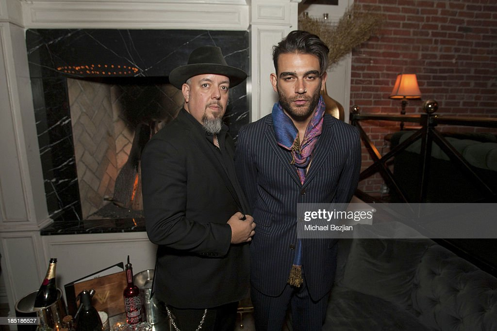 George Pajon Jr and Diego Val attend Songs Of Hope Event Benefiting The Somaly Mam Foundation on October 17, 2013 in Hollywood, California.