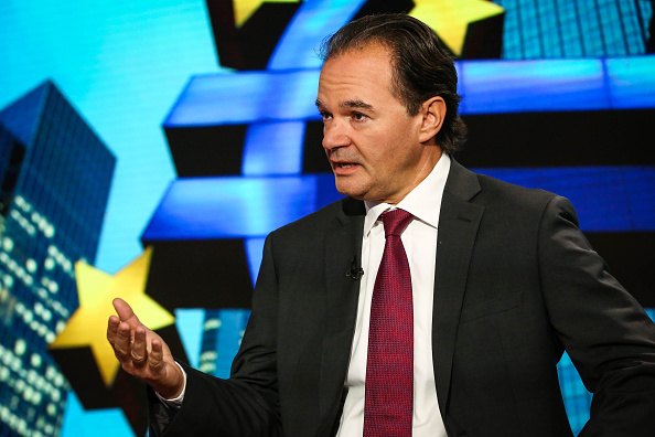 Former Greek Finance Minister George Papaconstantinou Interview : News Photo