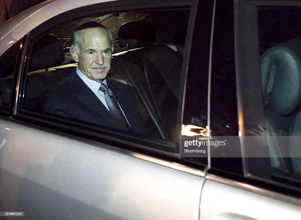Papandreou's Unity Government Bid Hits Resistance As Crisis Talks Begin