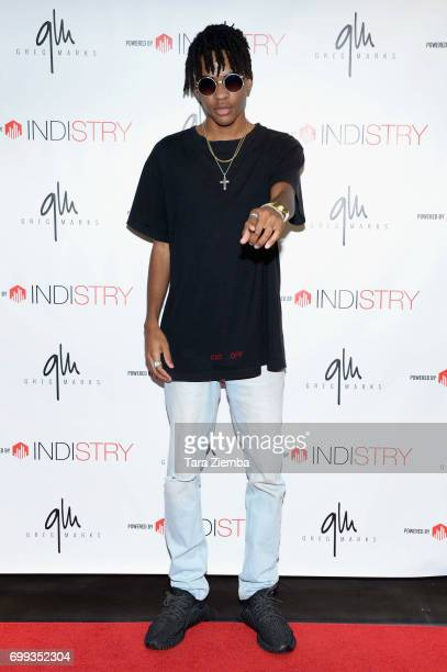 George Parimore attends Greg Marks 'Letting Go' single release party at Magnolia Park on June 20 2017 in Burbank California