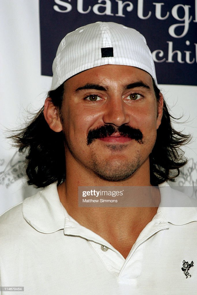 George Parros during 'Stars with Sticks' Annual Celebrity Hockey Classic at Toyota Sports Center in El Segundo California United States
