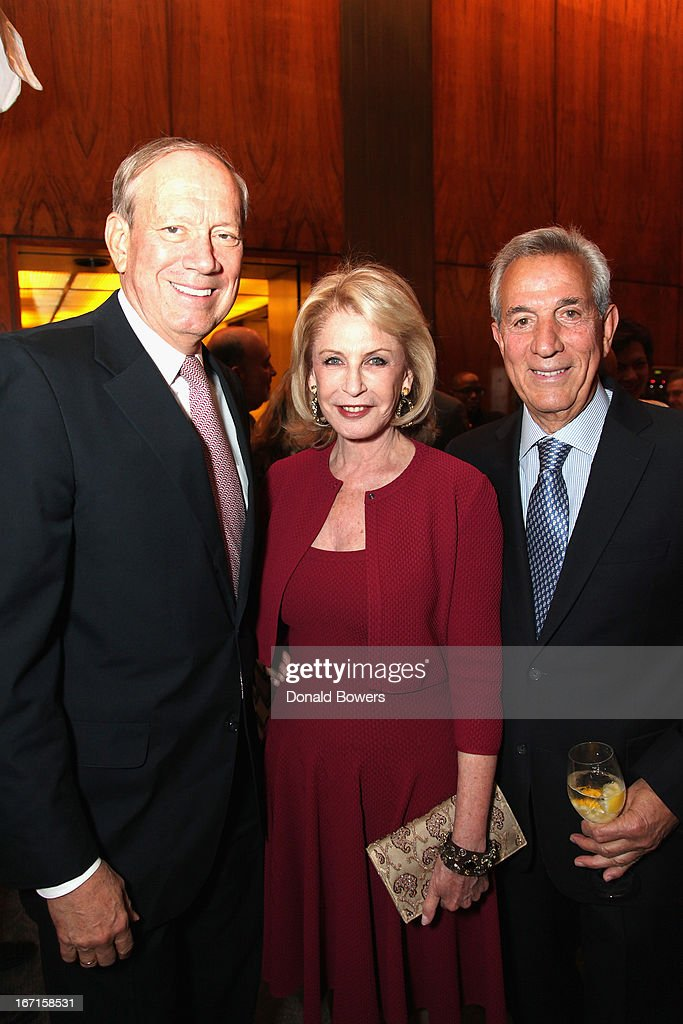 <a gi-track='captionPersonalityLinkClicked' href=/galleries/search?phrase=George+Pataki&family=editorial&specificpeople=202813 ng-click='$event.stopPropagation()'>George Pataki</a>, Lauren Veronis and <a gi-track='captionPersonalityLinkClicked' href=/galleries/search?phrase=Charles+Gargano&family=editorial&specificpeople=221441 ng-click='$event.stopPropagation()'>Charles Gargano</a> attend The Through The Kitchen Party Benefit For Cancer Research Institute on April 21, 2013 in New York City.