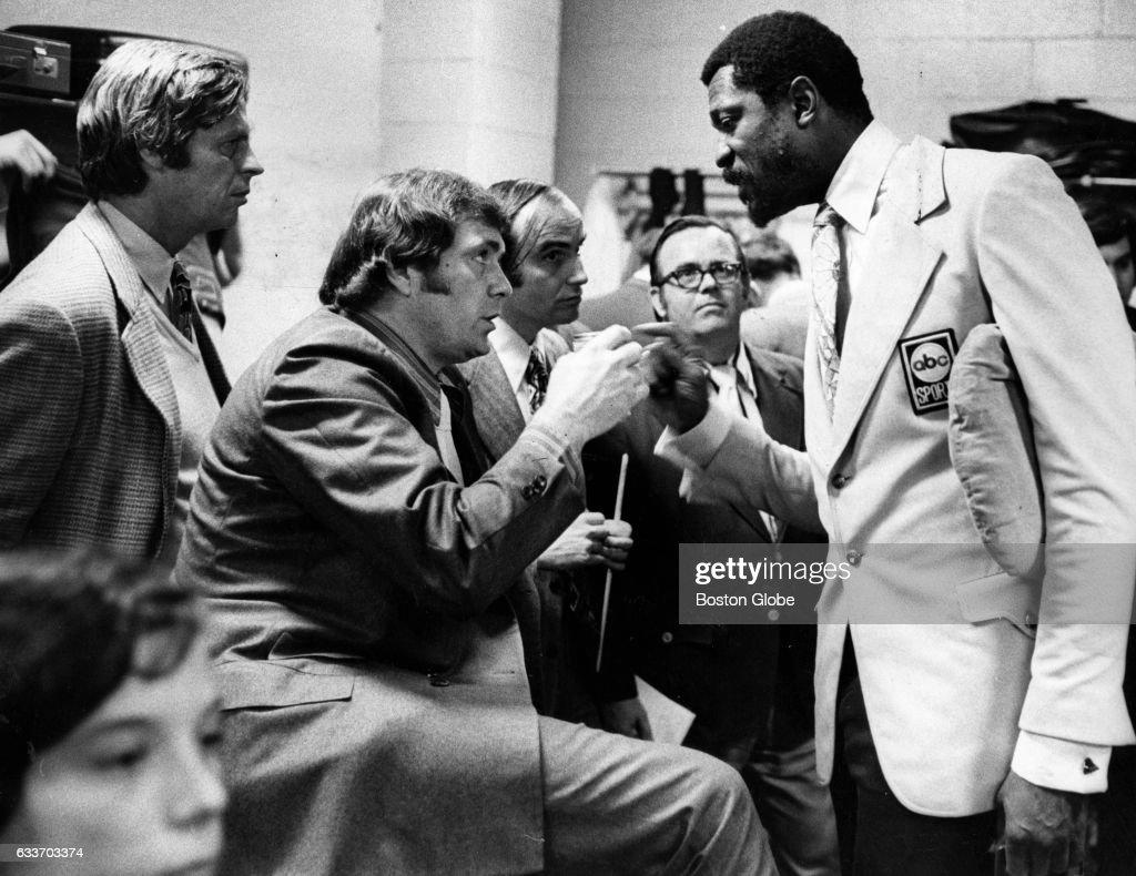 Former Boston Celtics Players Bill Russell