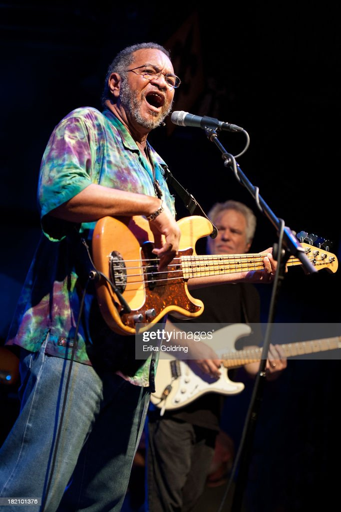 George Porter Jr. and Brian Stoltz of The Funky Meters performs at Tipitina's on September 27, 2013 in New Orleans, Louisiana.