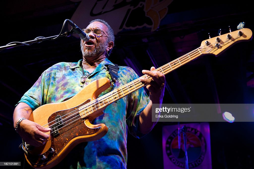 George Porter Jr. of The Funky Meters performs at Tipitina's on September 27, 2013 in New Orleans, Louisiana.