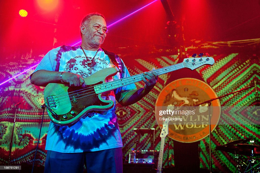 George Porter, Jr. performs at his 65th Birthday Bash at The Howlin' Wolf on December 26, 2012 in New Orleans, Louisiana.