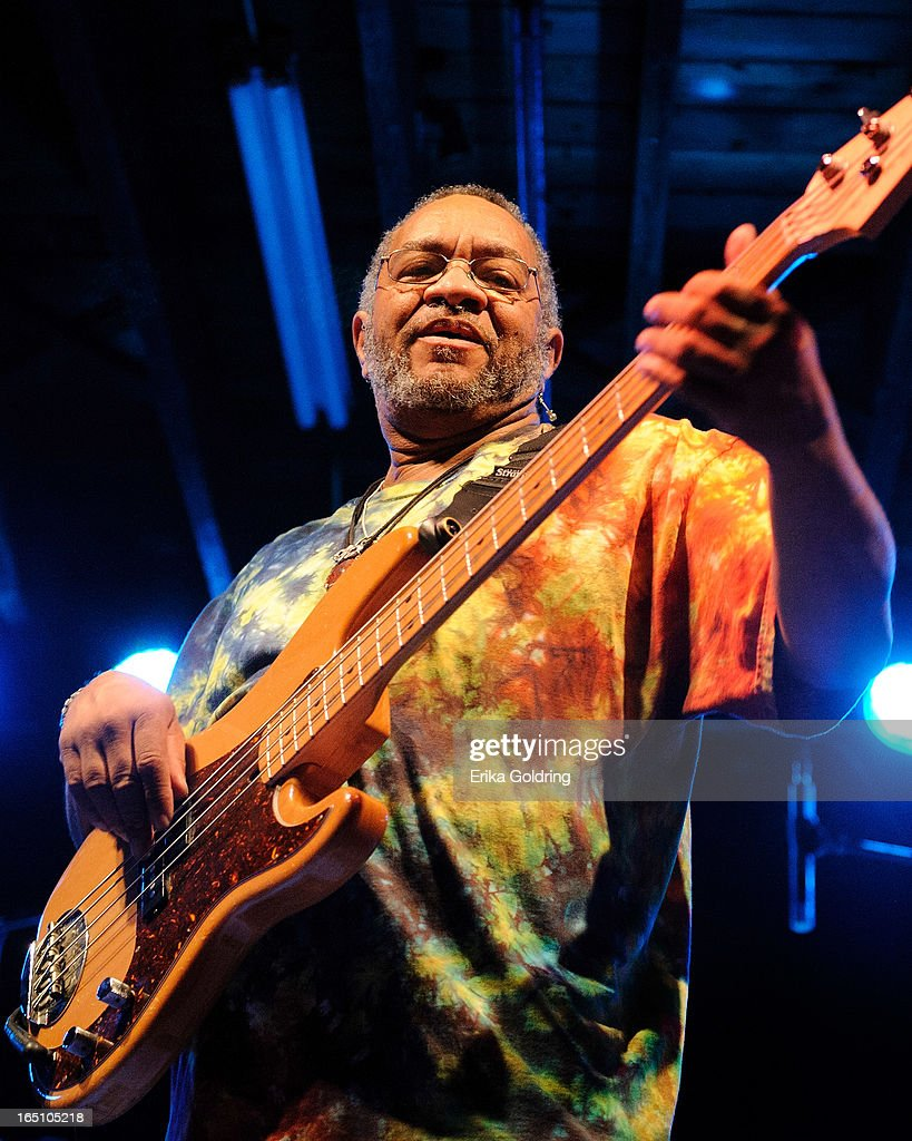 George Porter, Jr. performs in concert at Tipitina's on March 29, 2013 in New Orleans, Louisiana.