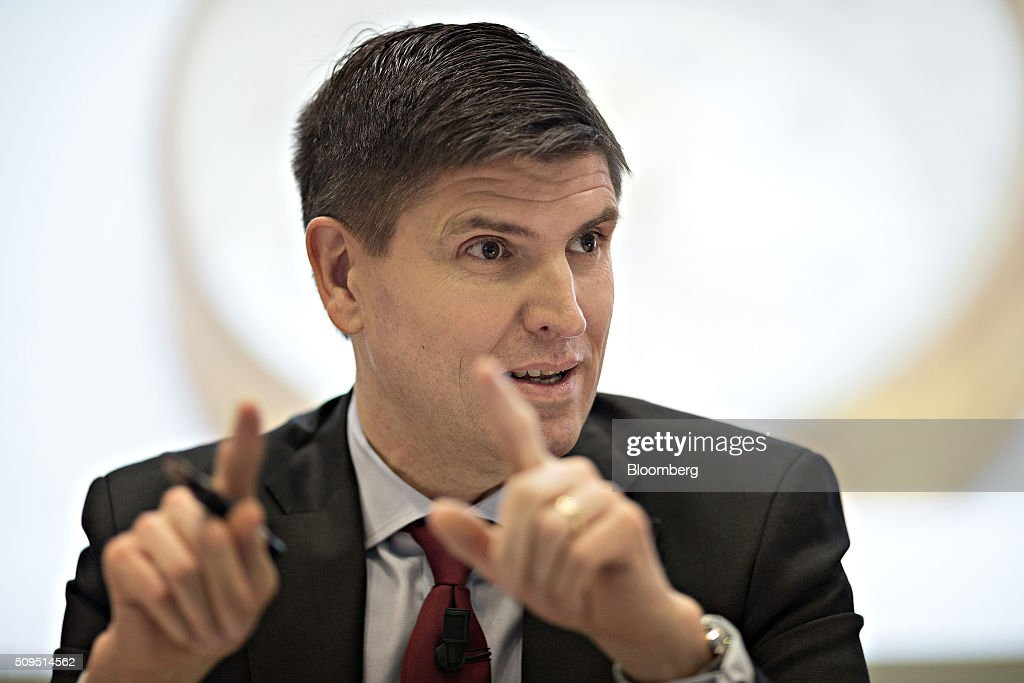 George Quinn, chief financial officer of Zurich Insurance Group AG, gestures as he speaks during the company's full year results news conference in Zurich, Switzerland, on Thursday, Feb. 11, 2016. Zurich Insurance reported a worse-than-expected loss in the fourth quarter as the company makes plans to turn around its unprofitable general insurance unit. Photographer: Michele Limina/Bloomberg via Getty Images George Quinn