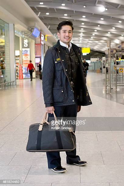 George Reade from England prepares to travel to Bradford as Heathrow Appoints British Style Icon Laura Bailey as its first ever style hunter for...