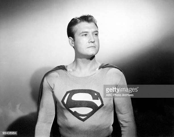 SUPERMAN George Reeves stars as 'Superman'