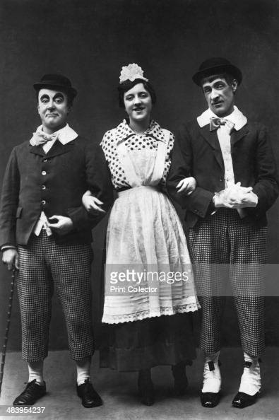 George Robey Violet Loraine and Alfred Lester music hall entertainers early 20th century