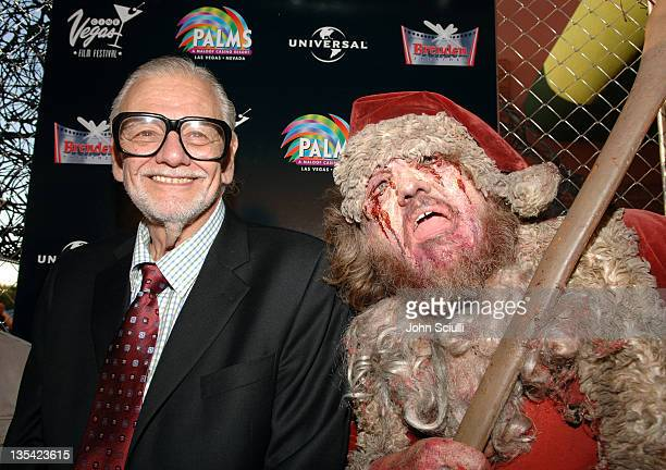 George Romero director during CineVegas Film Festival 2005 'Land of The Dead' World Premiere Red Carpet at Brenden Theatres in Las Vegas Nevada...