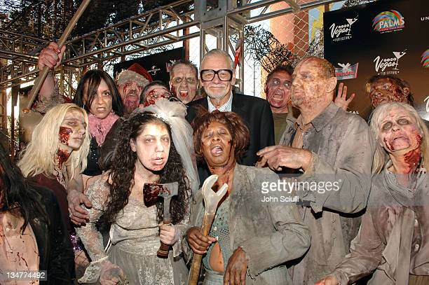 George Romero director of 'Land of The Dead' during CineVegas Film Festival 2005 'Land of The Dead' World Premiere Red Carpet at Brenden Theatres in...