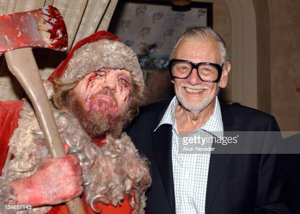 George Romero during CineVegas Film Festival 2005 Closing Party at Curve Nightclub in Las Vegas Nevada United States