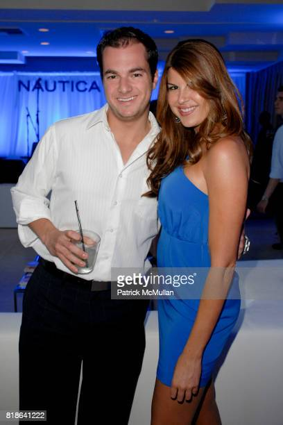 George Sacco and Nikki Martin attend GQ World Oceans Day Party at Sunset Tower Hotel on June 8 2010 in West Hollywood California