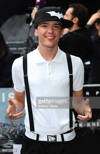 George Sampson attends The Dark Knight Rises European Premiere on July 18 2012 at the Odeon Cinema Leicester Square in London