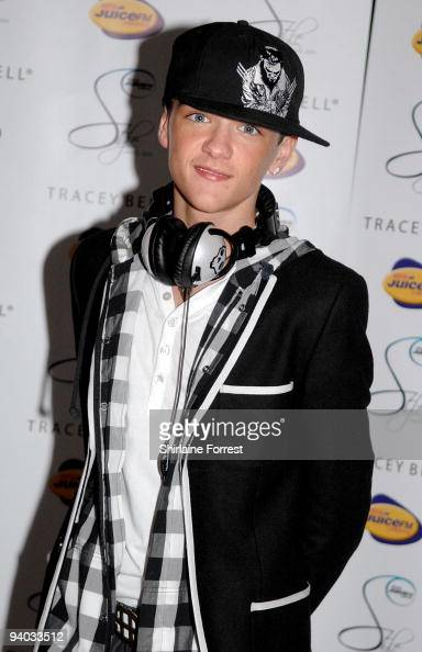 George Sampson attends the Liverpool Style Awards on December 5 2009 in Liverpool England