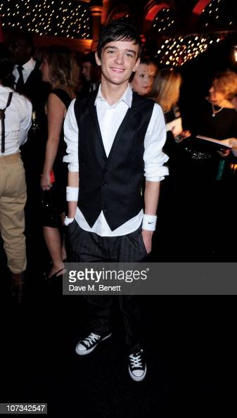 George Sampson attends the Moet British Independent Film Awards 2010 Champagne Reception on December 5 2010 in London England