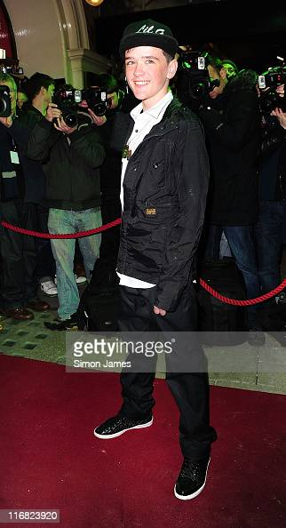 George Sampson attends the opening night of the Michael Jackson musical 'Thriller Live' at Lyric Theatre on January 21 2009 in London England