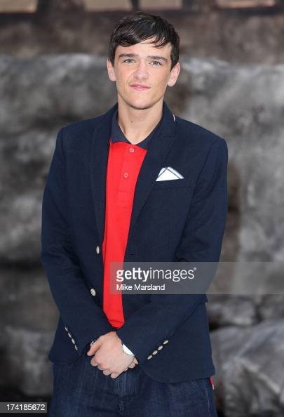 George Sampson attends the UK Premiere of 'The Lone Ranger' at Odeon Leicester Square on July 21 2013 in London England