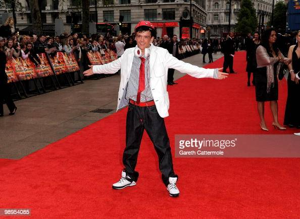 George Sampson attends the World Premiere of StreetDance 3D at Empire Leicester Square on May 10 2010 in London England