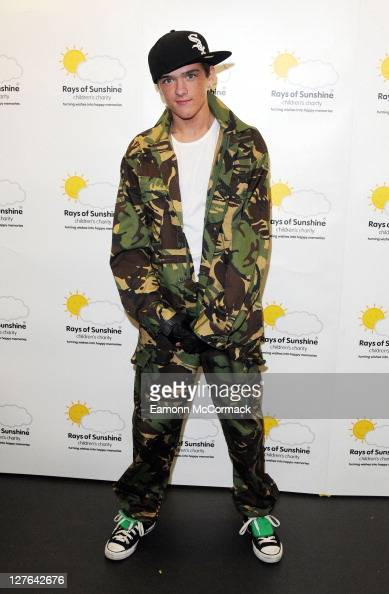George Sampson performs in 'The Sunshine Concert' for Rays of Sunshine Children's Charity at the Troxy on March 11 2011 in London England