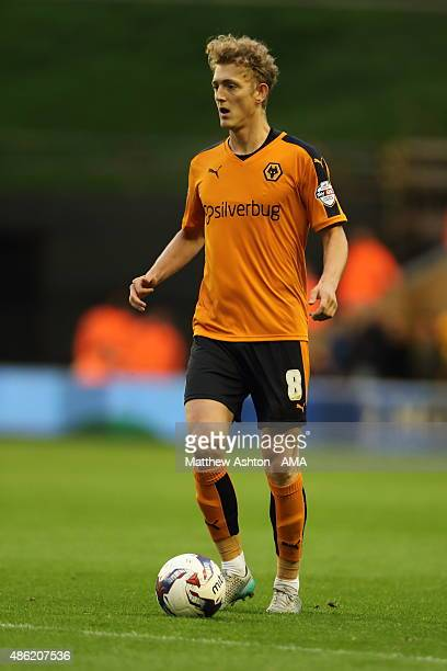 George Saville of Wolverhampton Wanderers during the Capital One Cup match between Wolverhampton Wanderers and Barnet at Molineux on August 25 2015...