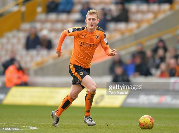 George Saville of Wolverhampton Wanderers during the Sky Bet Championship match between Wolverhampton Wanderers and Derby County at Molineux on...