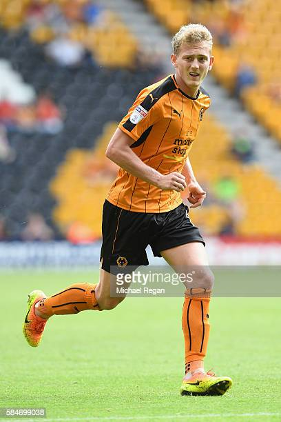 George Saville of Wolves in action during the friendly match between Wolverhampton Wanderers and Swansea City at Molineux on July 30 2016 in...