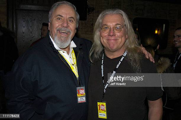 George Schlatter and Bob Zmuda during The 10th Annual US Comedy Arts Festival Hollywood Reporter AFI Party at Whisky Rocks at the St Regis in Aspen...