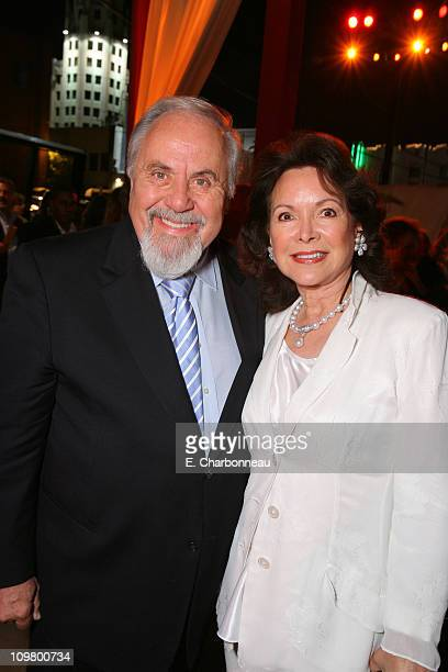 George Schlatter and wife Jolene Schlatter during Warner Bros Pictures Village Roadshow Pictures Jerry Weintraub and Section 8 Productions Host the...