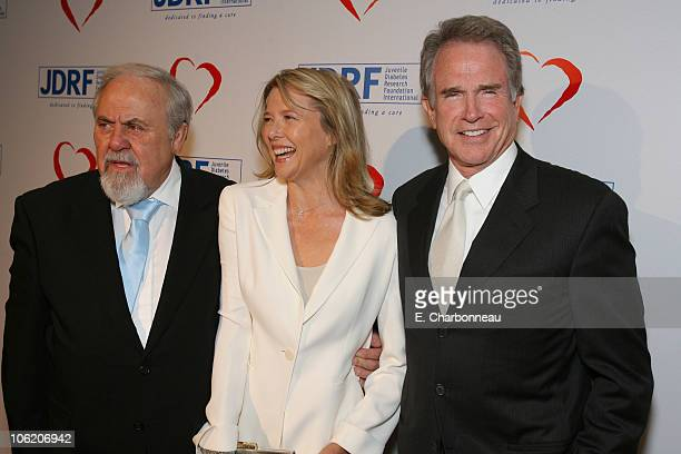 George Schlatter Annette Bening and Warren Beatty
