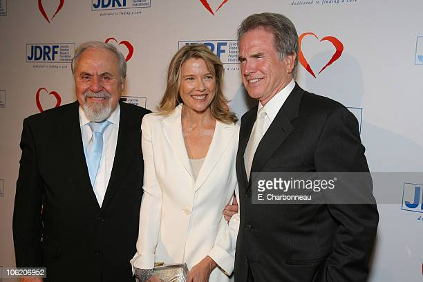 George Schlatter Annette Bening and Warren Beatty