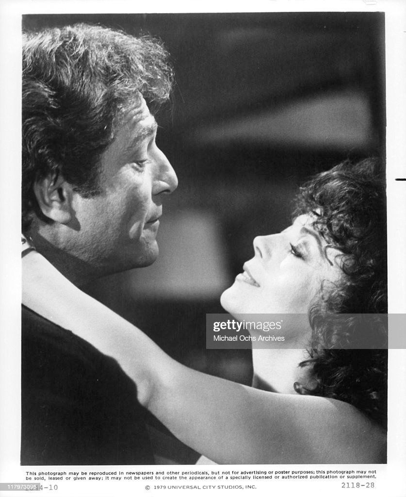 George Segal and Natalie Wood are still in love in a scene from the film 'The Last Married Couple in America', 1980.