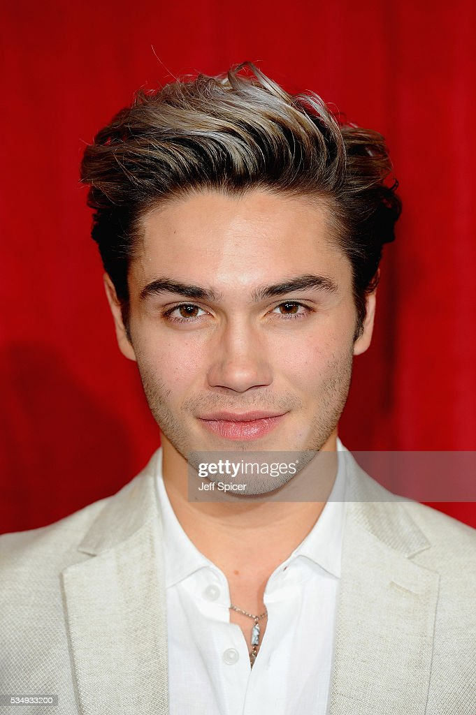 George Shelley attends the British Soap Awards 2016 at Hackney Empire on May 28, 2016 in London, England.