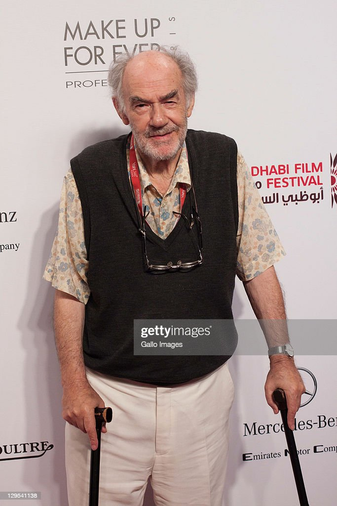 <a gi-track='captionPersonalityLinkClicked' href=/galleries/search?phrase=George+Sluizer&family=editorial&specificpeople=8545874 ng-click='$event.stopPropagation()'>George Sluizer</a> (narrative jury member) on the red carpet - Abu Dhabi Film Festival - Day four on October 16, 2011 in Abu Dhabi Theatre.