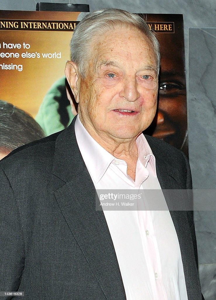 <a gi-track='captionPersonalityLinkClicked' href=/galleries/search?phrase=George+Soros&family=editorial&specificpeople=212841 ng-click='$event.stopPropagation()'>George Soros</a> attends a screening of 'The Intouchables' at The Paley Center for Media on April 30, 2012 in New York City.