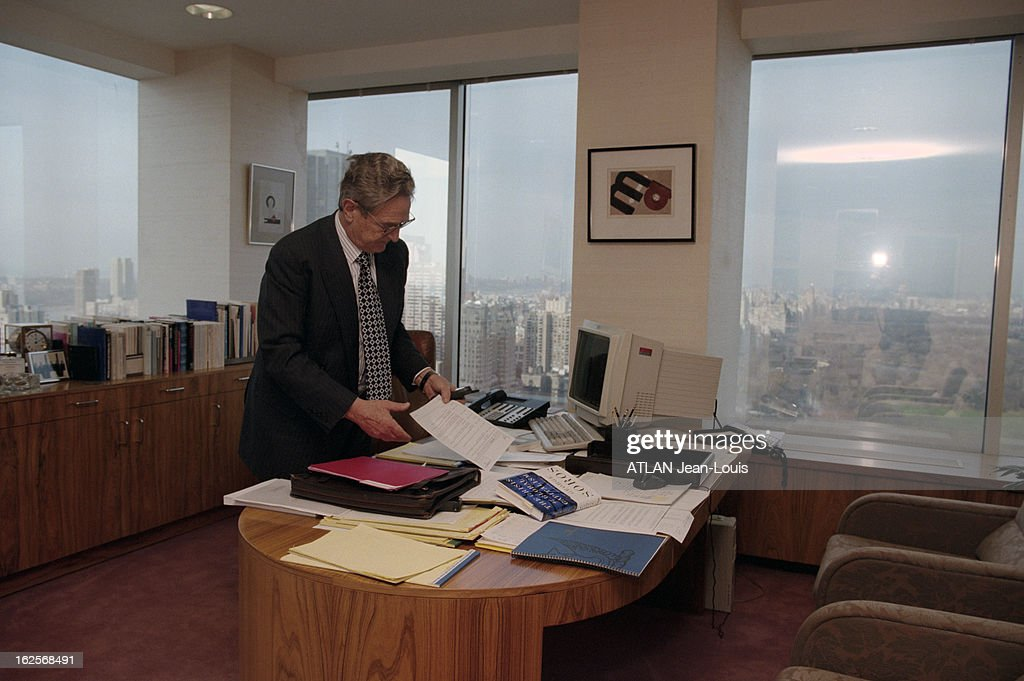 George Soros In His Office In New York Pictures Getty Images