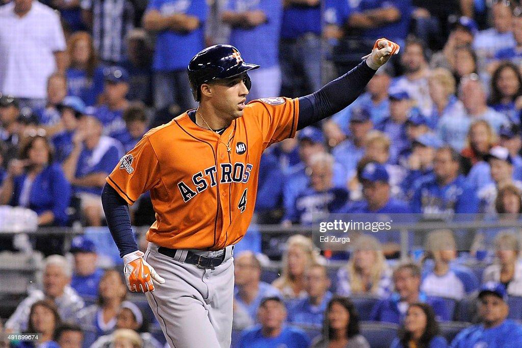 Division Series - Houston Astros v Kansas City Royals - Game One
