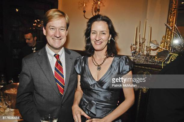 George Steel and Amanda Brainerd attend NEW YORK CITY OPERA AN EVENING OF HOLIDAY CHEER Hosted by Roy Niederhoffer and Jenny Lebowitz at Private...